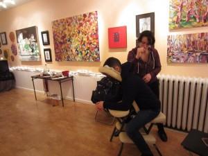 chair massage in Philadelphia